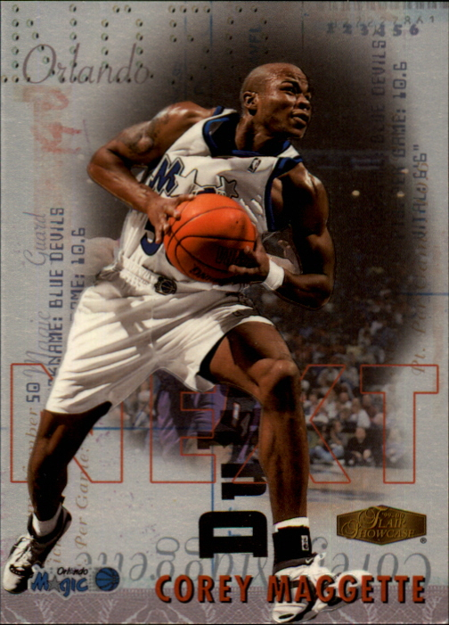 1999-00 Flair Showcase Next #N4 Corey Maggette