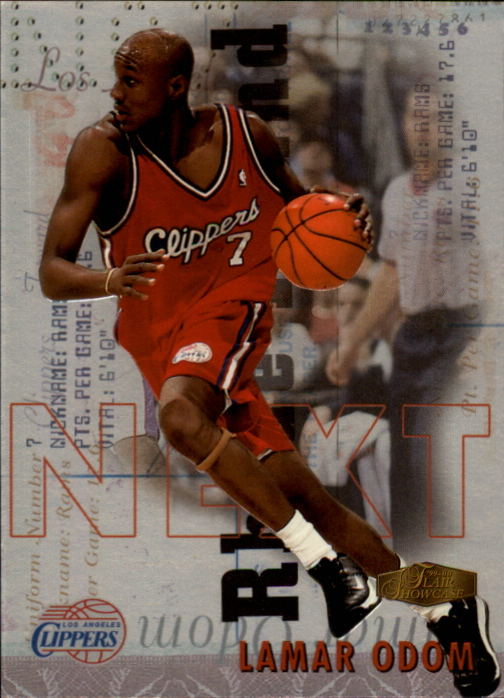 1999-00 Flair Showcase Next #N12 Lamar Odom