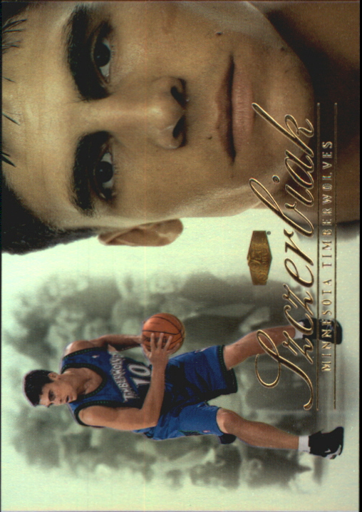 1999-00 Flair Showcase Rookie Showcase Firsts #20 Wally Szczerbiak