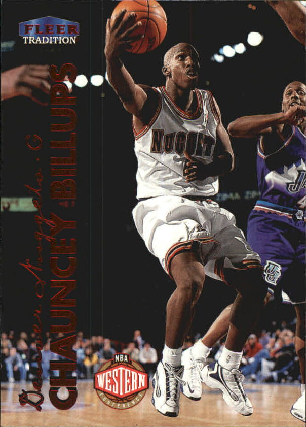 1999-00 Fleer #13 Chauncey Billups
