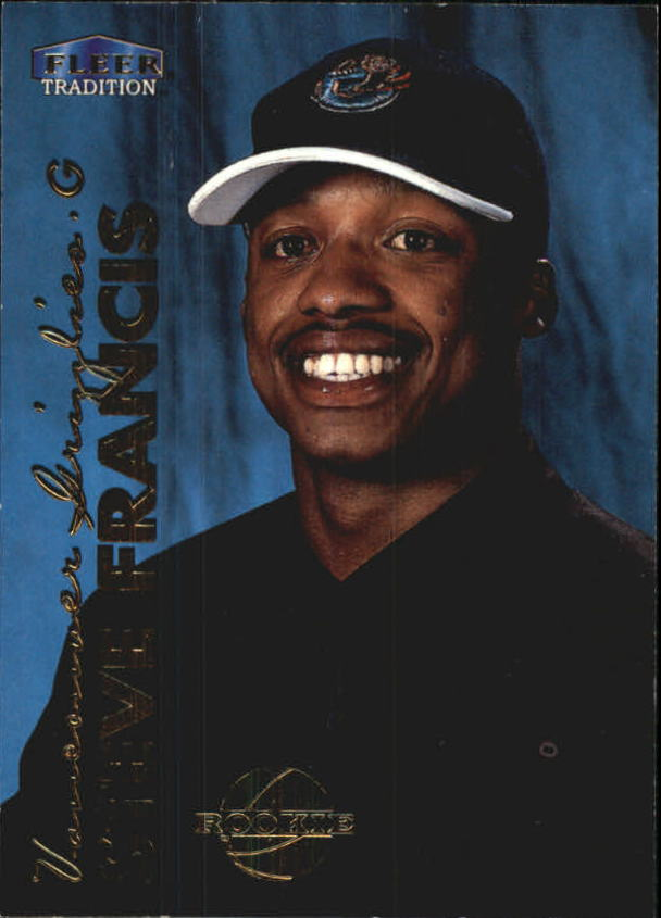 1999-00 Fleer #211 Steve Francis RC