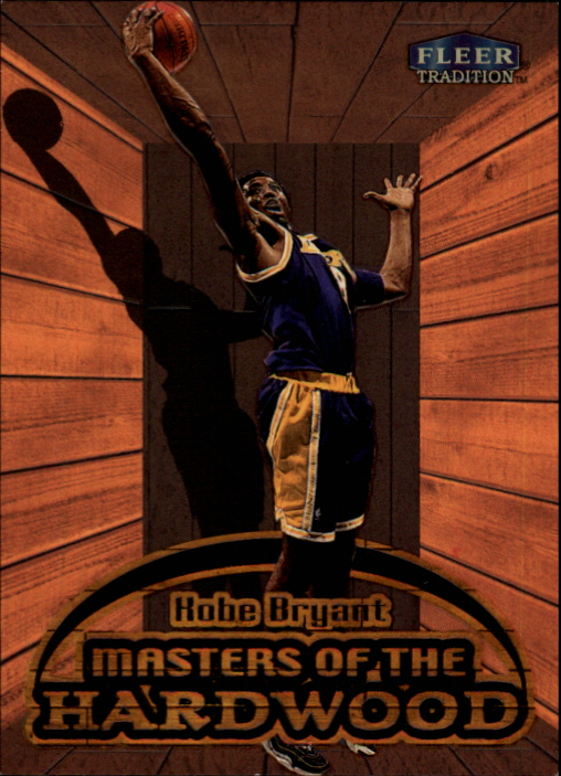 1999-00 Fleer Masters of the Hardwood #3 Kobe Bryant