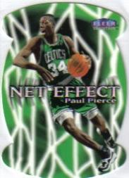 1999-00 Fleer Net Effect #8 Paul Pierce