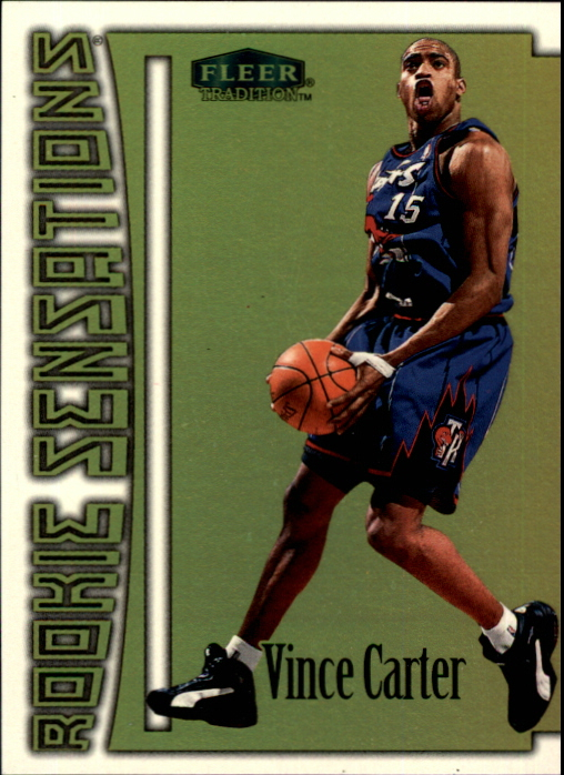 1999-00 Fleer Rookie Sensations #2 Vince Carter