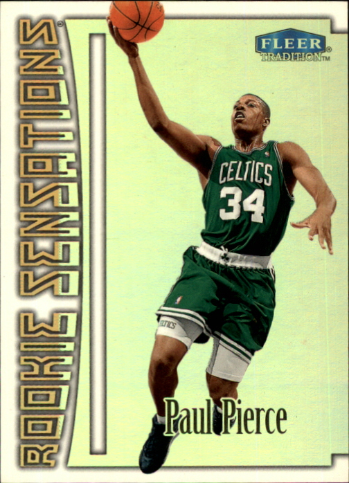 1999-00 Fleer Rookie Sensations #17 Paul Pierce