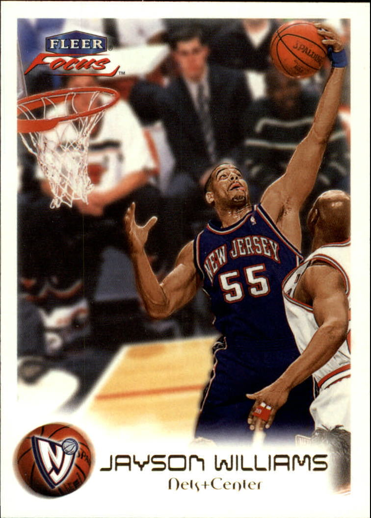 1999-00 Fleer Focus #3 Jayson Williams