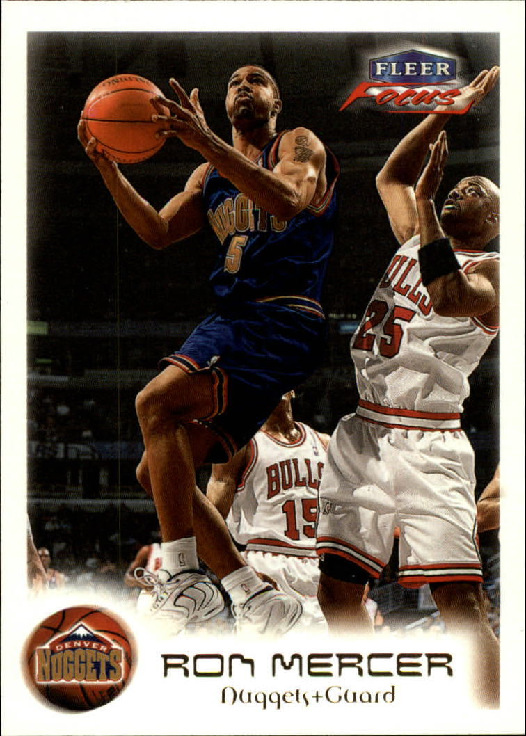 1999-00 Fleer Focus #4 Ron Mercer