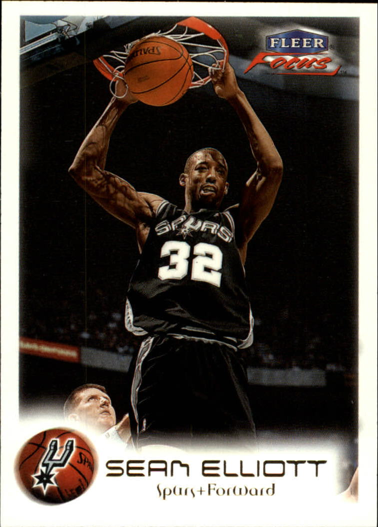 1999-00 Fleer Focus #7 Sean Elliott