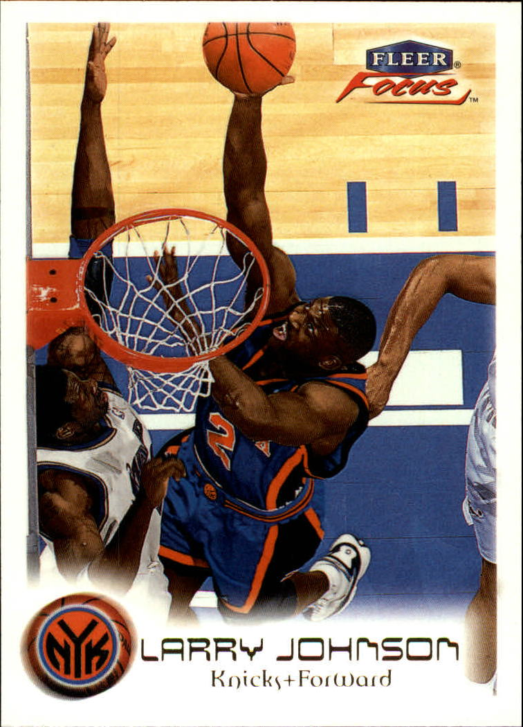 1999-00 Fleer Focus #9 Larry Johnson