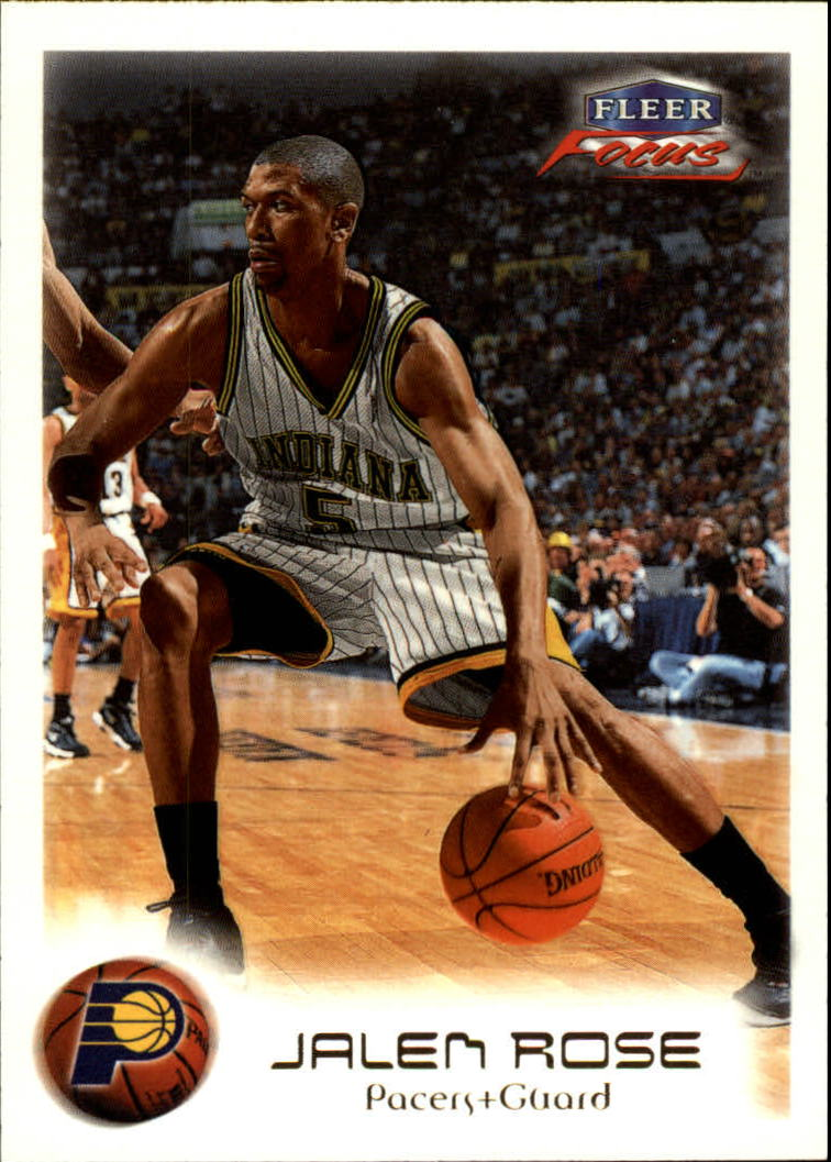1999-00 Fleer Focus #12 Jalen Rose