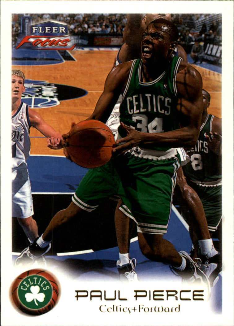 1999-00 Fleer Focus #16 Paul Pierce