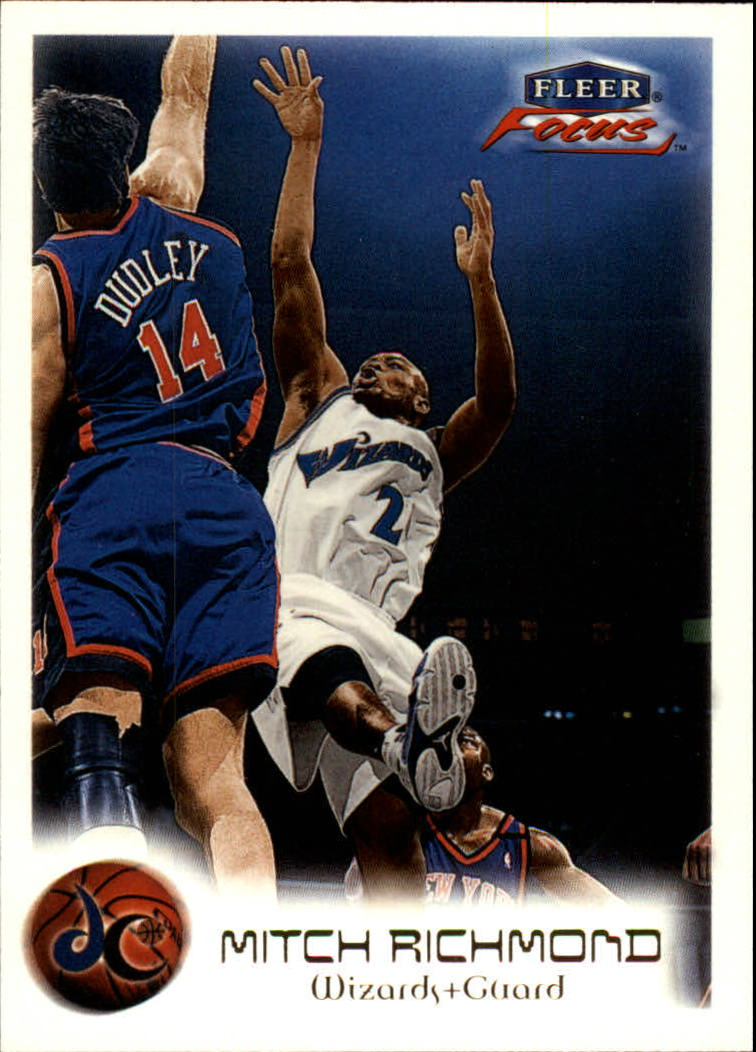 1999-00 Fleer Focus #19 Mitch Richmond