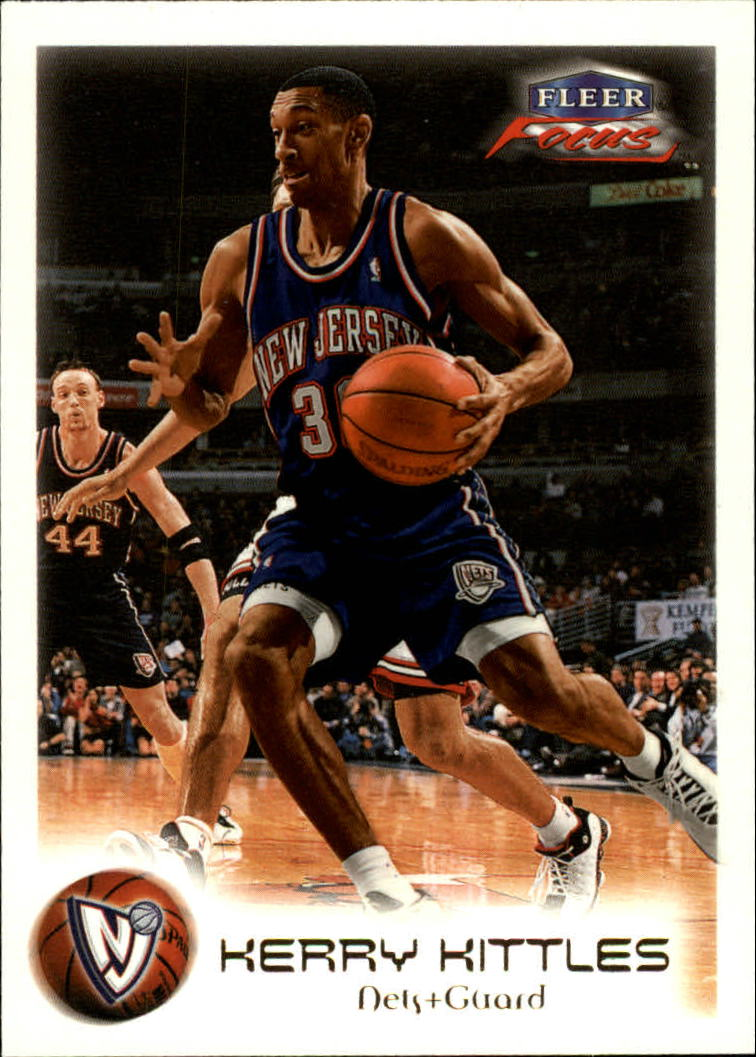 1999-00 Fleer Focus #22 Kerry Kittles