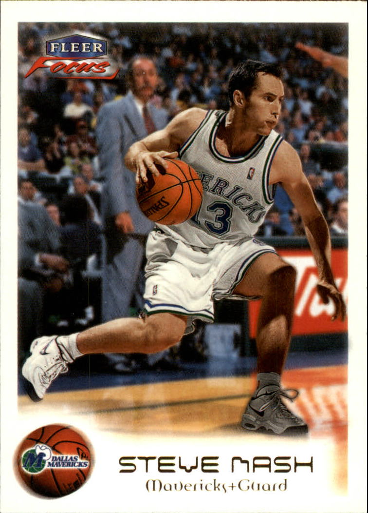 1999-00 Fleer Focus #24 Steve Nash