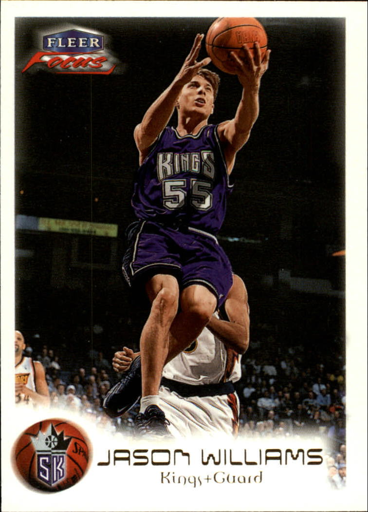1999-00 Fleer Focus #27 Jason Williams
