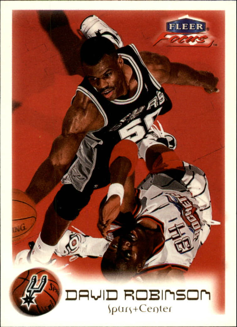 1999-00 Fleer Focus #32 David Robinson