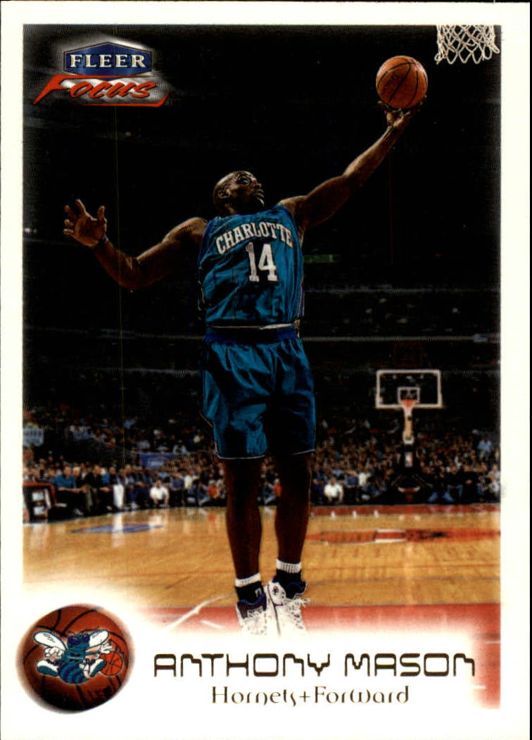 1999-00 Fleer Focus #33 Anthony Mason