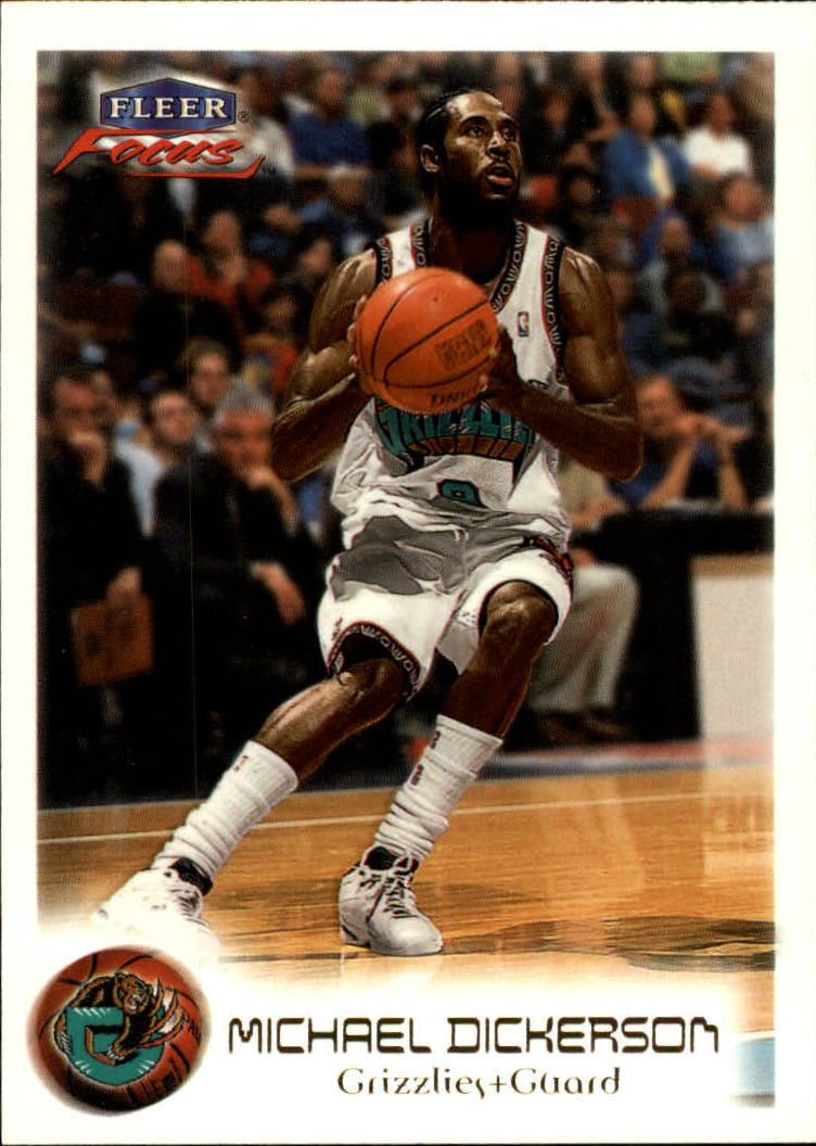 1999-00 Fleer Focus #38 Michael Dickerson