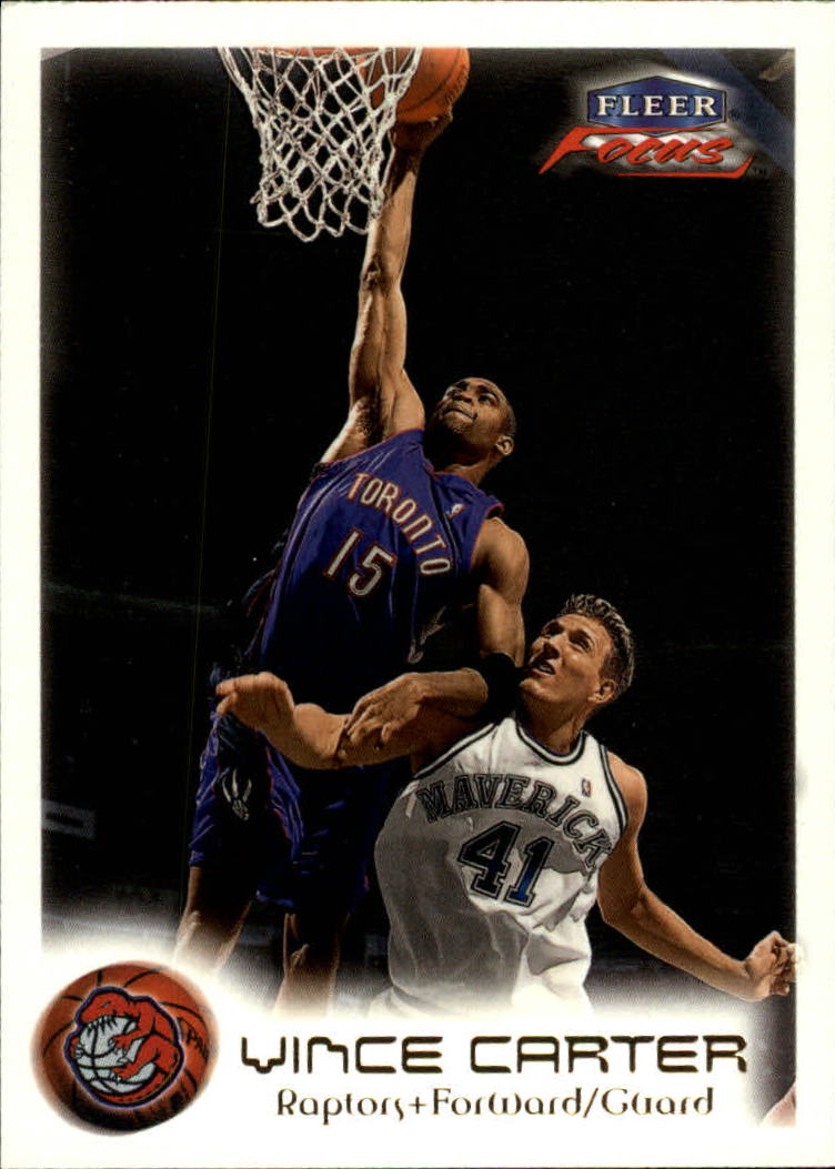 1999-00 Fleer Focus #44 Vince Carter
