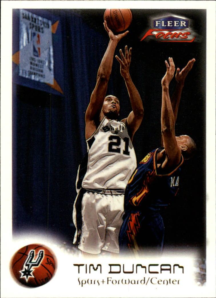1999-00 Fleer Focus #99 Tim Duncan