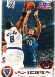 1999-00 Fleer Focus #123A Wally Szczerbiak SP