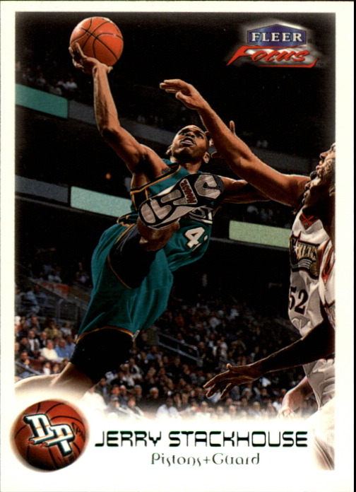 1999-00 Fleer Focus Masterpiece Mania #5 Jerry Stackhouse