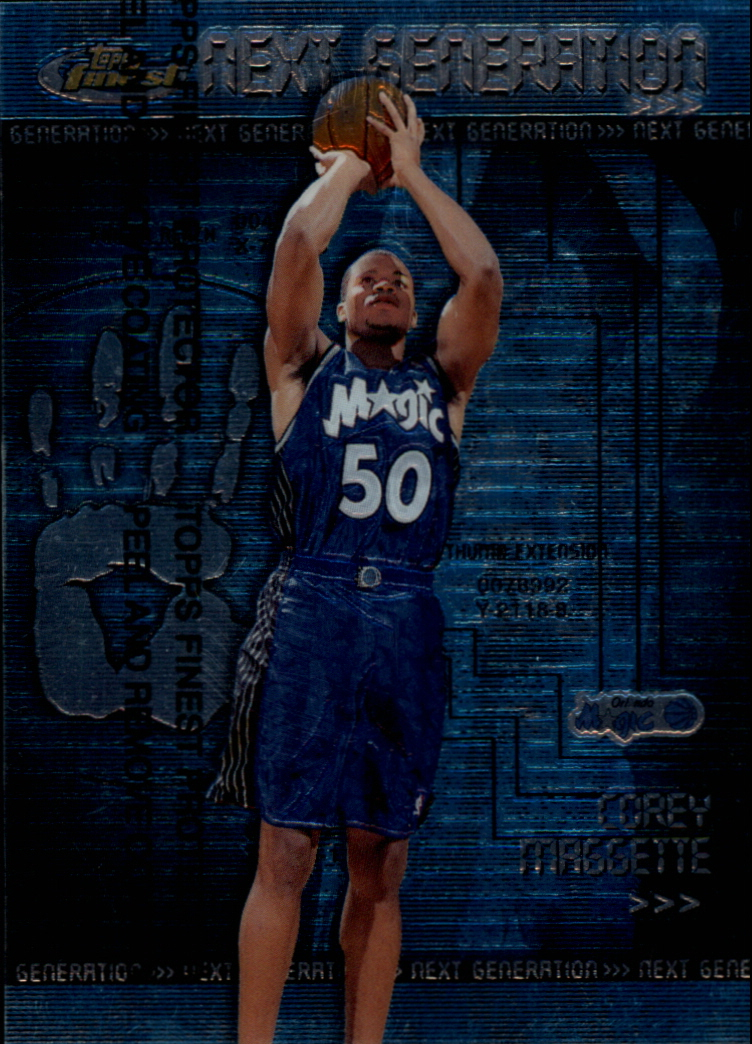 1999-00 Finest Next Generation #NG5 Corey Maggette
