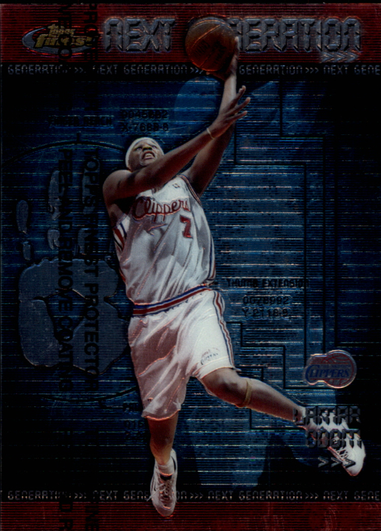 1999-00 Finest Next Generation #NG12 Lamar Odom
