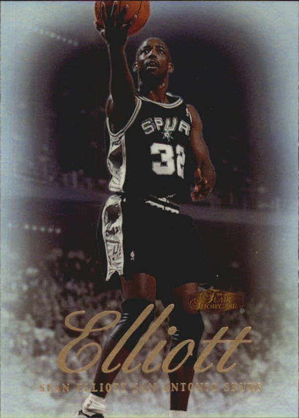 1999-00 Flair Showcase #6 Sean Elliott