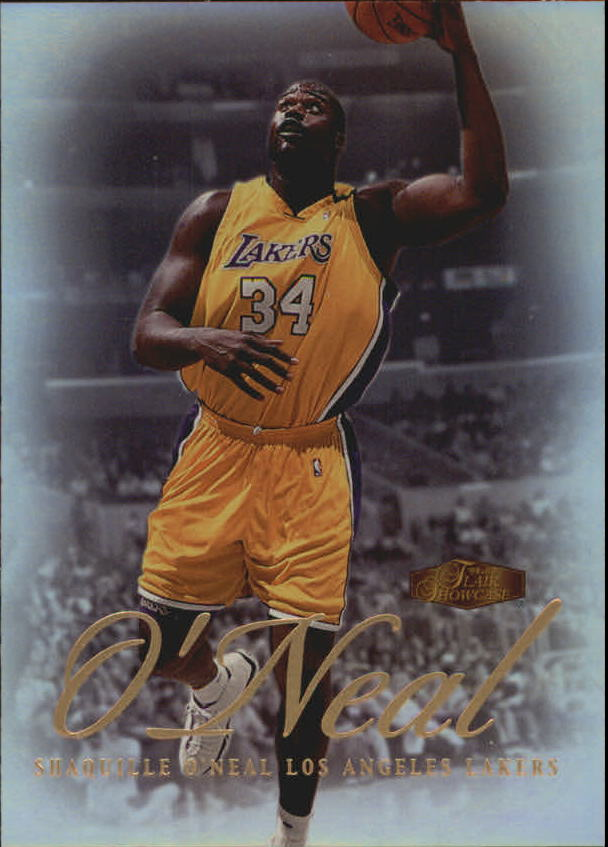1999-00 Flair Showcase #7 Shaquille O'Neal