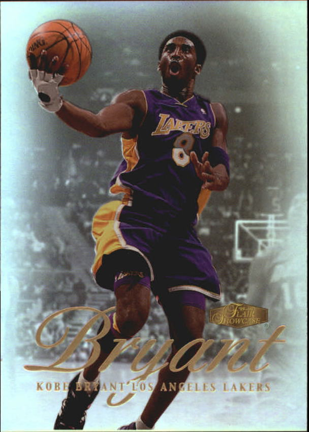 1999-00 Flair Showcase #50 Kobe Bryant