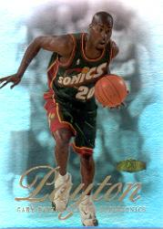 1999-00 Flair Showcase #87 Gary Payton