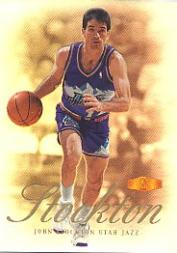 1999-00 Flair Showcase #88 John Stockton