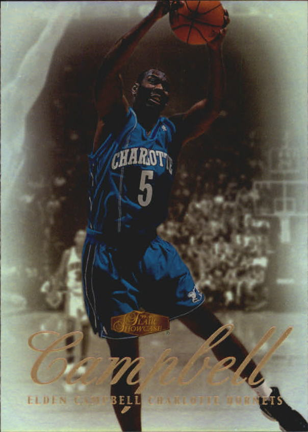1999-00 Flair Showcase #94 Elden Campbell