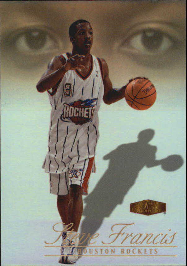 1999-00 Flair Showcase #114 Steve Francis RC