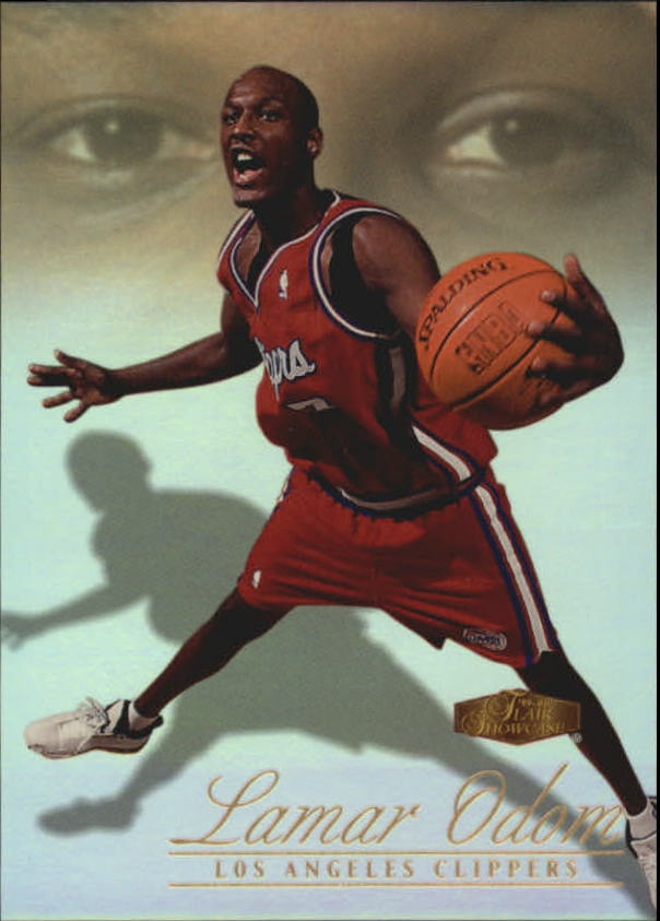 1999-00 Flair Showcase #116 Lamar Odom RC