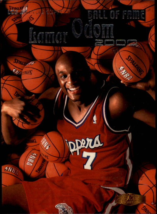 1999-00 Flair Showcase Ball of Fame #BF1 Lamar Odom