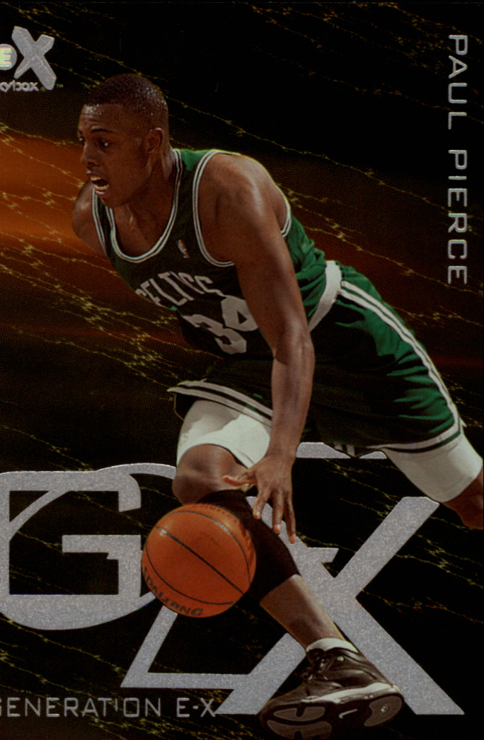 1999-00 E-X Generation E-X #GX6 Paul Pierce