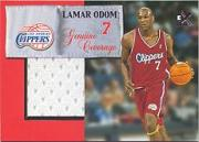 1999-00 E-X Genuine Coverage #GC8 Lamar Odom