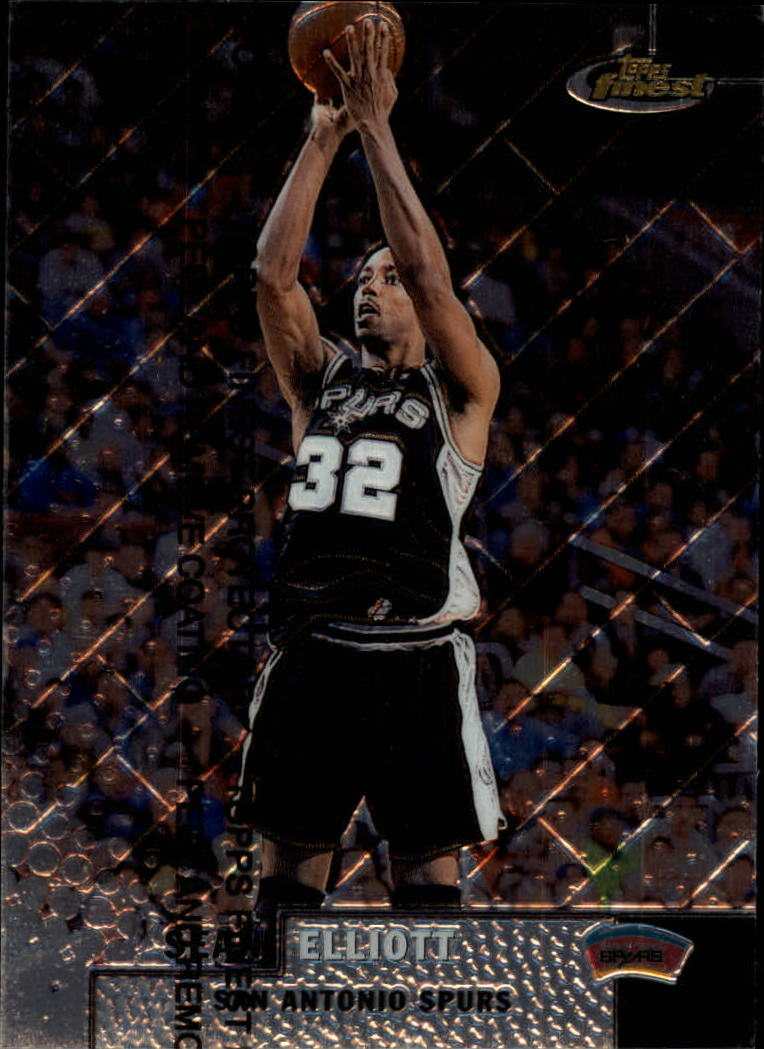 1999-00 Finest #3 Sean Elliott