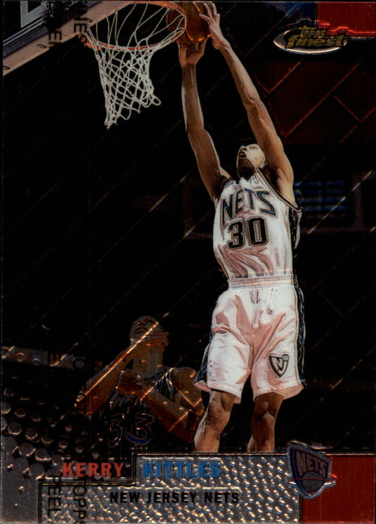 1999-00 Finest #7 Kerry Kittles