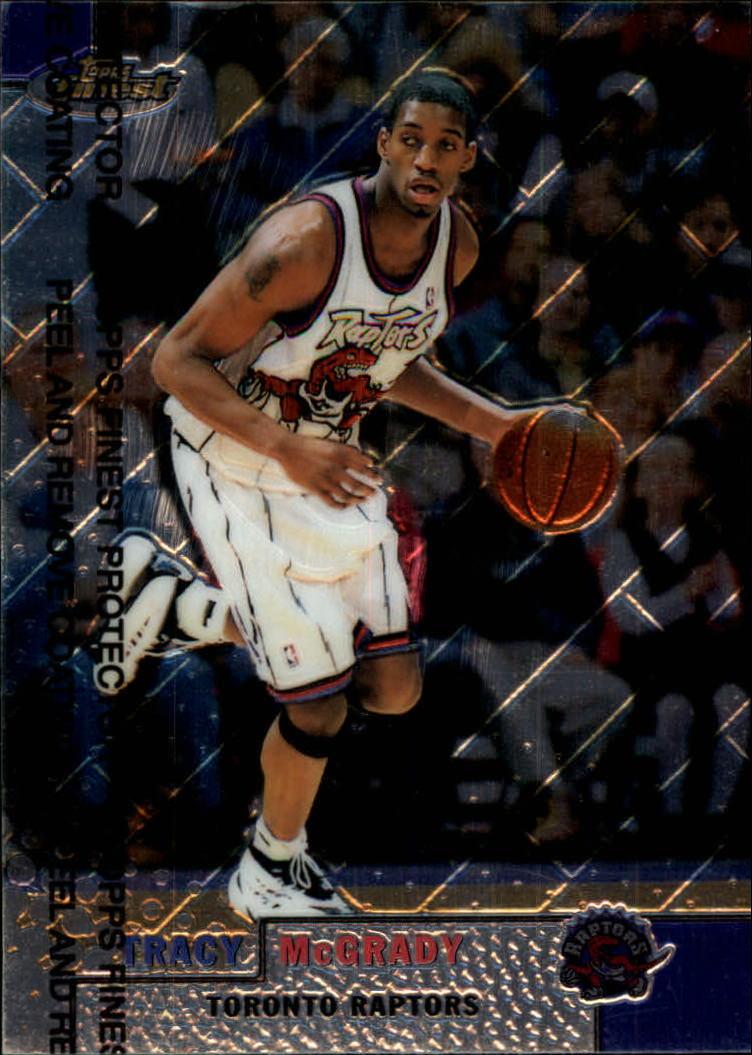 1999-00 Finest #26 Tracy McGrady