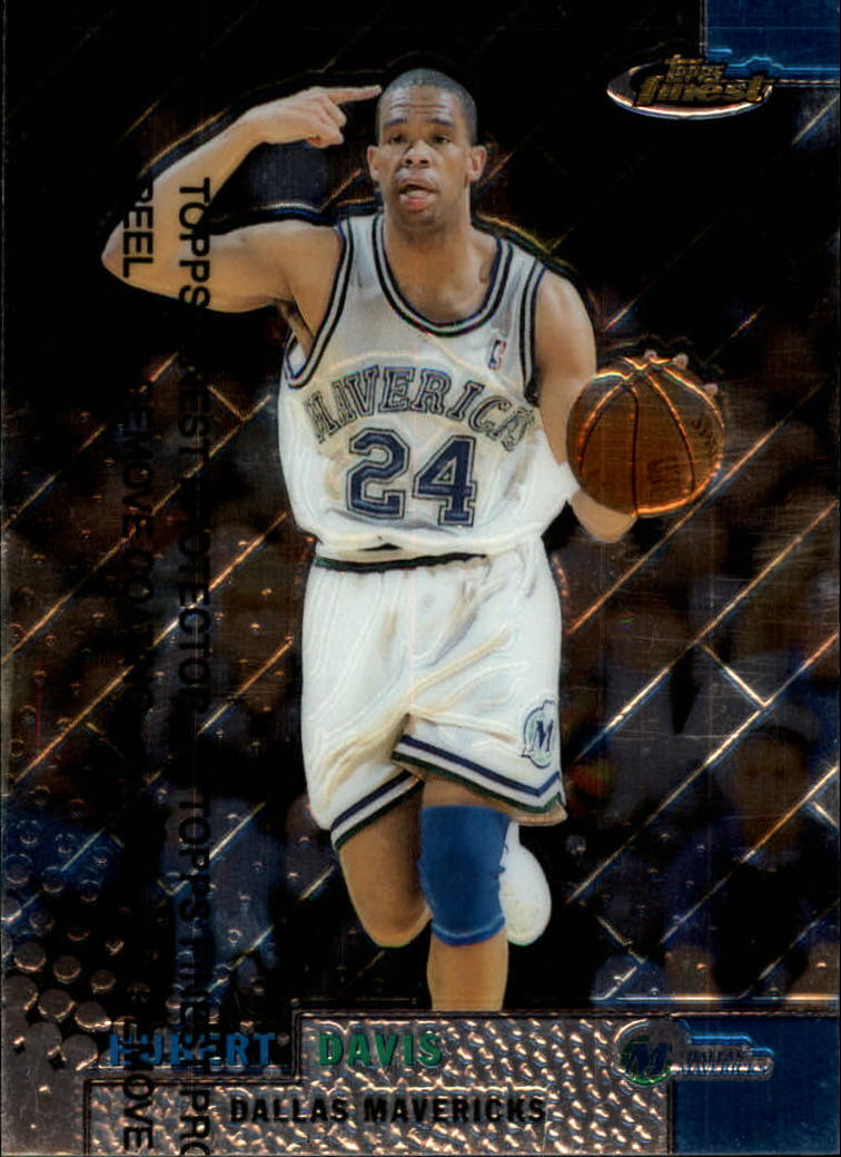 1999-00 Finest #40 Hubert Davis