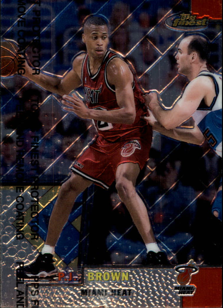 1999-00 Finest #45 P.J. Brown