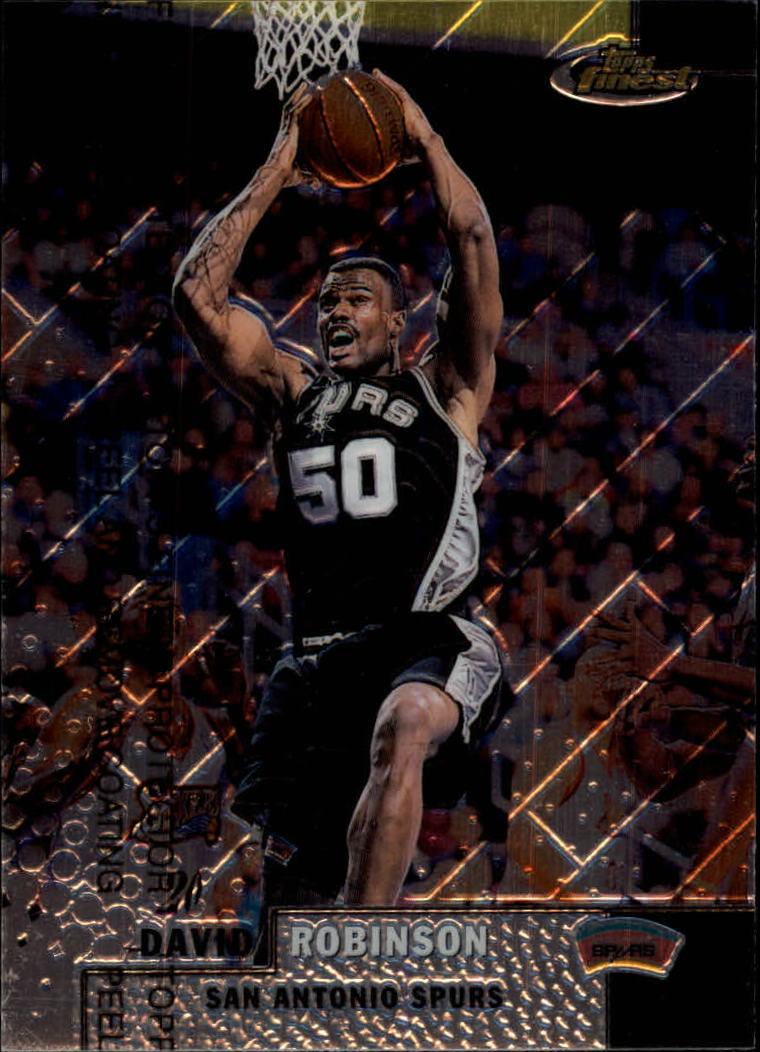 1999-00 Finest #80 David Robinson