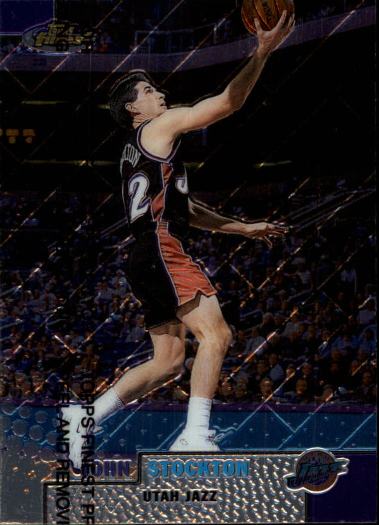 1999-00 Finest #85 John Stockton