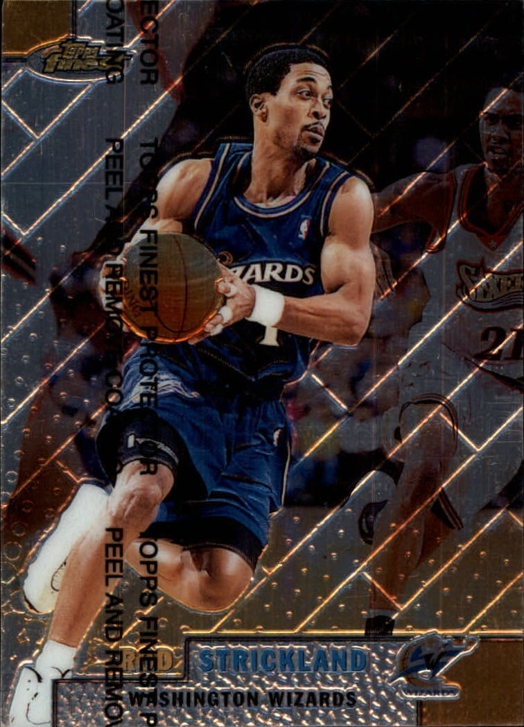 1999-00 Finest #86 Rod Strickland