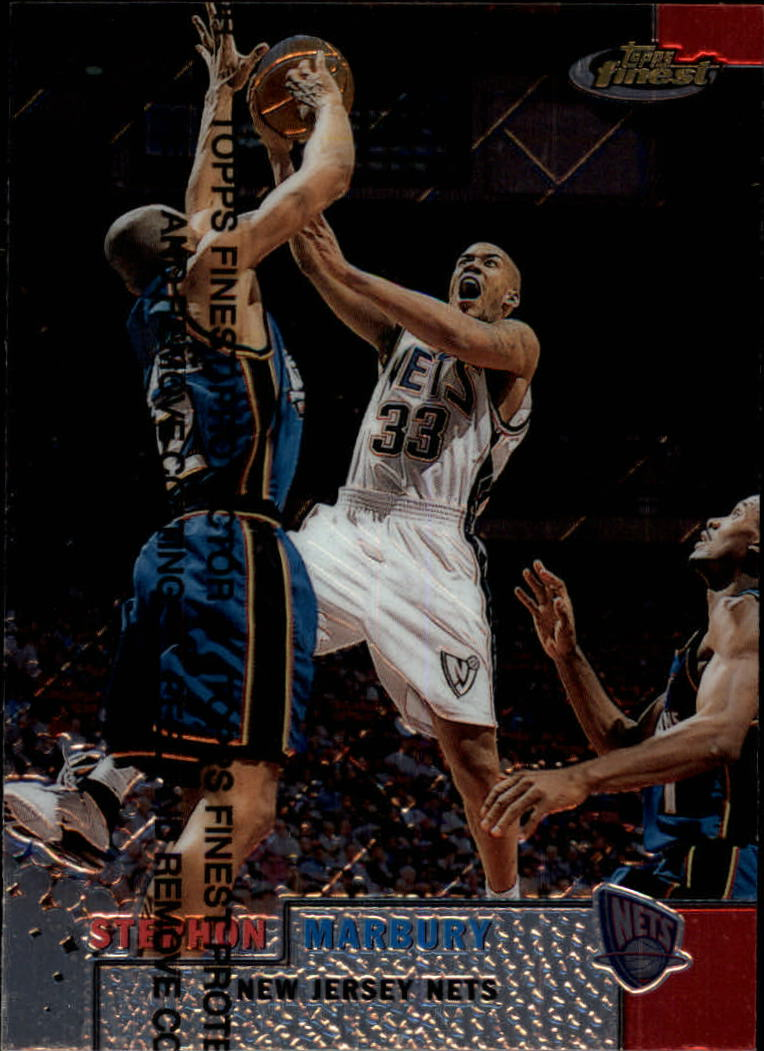 1999-00 Finest #93 Stephon Marbury