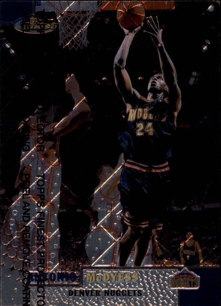 1999-00 Finest #95 Antonio McDyess