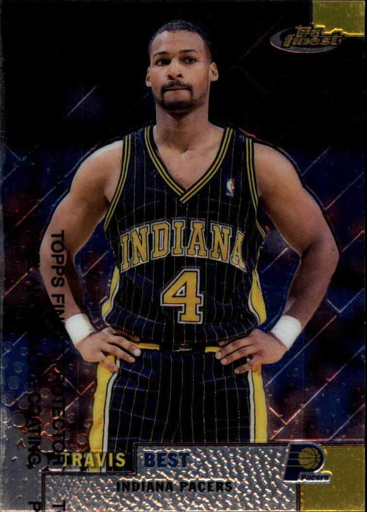 1999-00 Finest #100 Travis Best